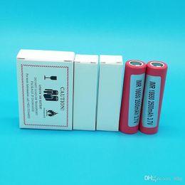 2019 аккумуляторные батареи сотовые телефоны 100% высокое качество 18650 Батарея HE2 2500 мАч макс 35A выход Аккумуляторы с помощью мобильного телефона Бесплатная доставка по FedEx дешево аккумуляторные батареи сотовые телефоны