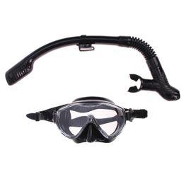 2019 tubo de respiração de máscara de natação Silicone Mergulho Máscara Anti-Fog Goggles Óculos Snorkel Respirar tubo Definir máscaras snorkeling pesca natação reserva de equipamentos tubo de respiração de máscara de natação barato