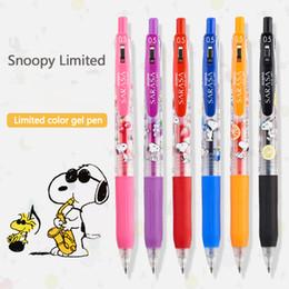 stylo à colle en gros Promotion Jianwu 1pc Zebra SARASA JJ15 Gel Pen Cartoon 0.5mm Limited Edition Kawaii Neutre Fournitures Pen école Press Kawaii