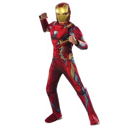 costume di fantasia uomini Sconti Cosplay costume Fantasy 3 Nano bambini Iron Man Comic Movie Carnevale partito di festa di Halloween Purim