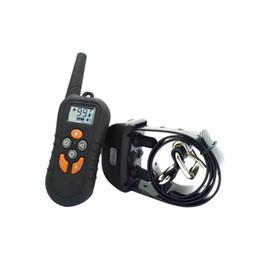 Canada 500 m Électrique Pet Dressage Collier Abs Ip7 Étanche Télécommande Chien Stop Barking Device Chien Choc Vibration Écorce Dissuasion Offre