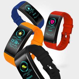 Relógio de pulso de saúde inteligente on-line-Inteligente Pulseira Esporte Inteligente Pulseira Sono Rastreador de Fitness QW68 Pulseira Relógio Ao Ar Livre Banda de Saúde Smartband para Android IOS
