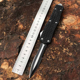 2019 tac force knife Herramienta práctica al aire libre Senderismo cuchillo automático Navaja NEWEDC salir adelante automática cuchillo táctico del combate que acampa