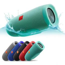 Falantes de envio on-line-2019 Nova Carga 3 Sem Fio Bluetooth Speaker Com Função de Banco De Potência TF Cartão Portátil À Prova D 'Água Frete Grátis