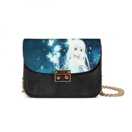 little gold bag Promo Codes - Luxury Handbags Women Little Chain Bags Anime Girl Butterfly Designer Messenger Bag Girl Bolsos Mujer Feminina Sac Main Femme