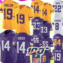 Camisolas viking on-line-19 Adam Thielen, Minnesota # Vikings, Jersey 14, Stefon Diggs, 55, Anthony Barr, 8, kk, primos, 84, Randy, musgo, smith, dalvin, cozinheiro, camisas futebol