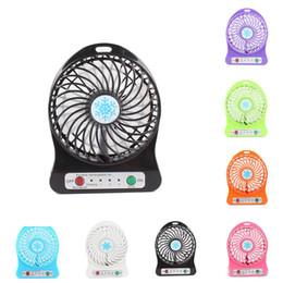Les plus petits jouets en Ligne-Portable Mini USB ventilateur d'été petit bureau poche poche air rechargeable 18650 batterie refroidisseur pour le bureau à domicile enfants jouets