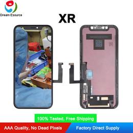Iphone display oem online-OEM-Ersatzteile Original FOG iPhone XR LCD-Schirm-Assembly-Display mit Touch-Nizza nagelneuer freien DHL-Verschiffen