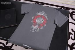 Papeles mangas online-2019chhe Crow Heart CH Red Horseshoe Group Camiseta Manga corta Moda Camiseta casual Sydney Paper Packaging