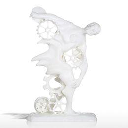Canada Tooarts Discobolus Seneca 3D Sculpture Imprimée Sculpture Moderne Ornement Paramétrique Sculpture Statues Escultura pour Home Office Offre