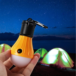 Ha condotto la luce del bivacco online-Waterproof Led Battery-Powered Hiking Emergency Portable Camping Hanging Lantern Light Lamp for Tent Bivouac Garage