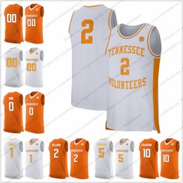 2ad631cda 2019 jersey number 2 Benutzerdefinierte Tennessee Volunteers College  Basketball Jersey genäht beliebige Name Nummer 2 Grant