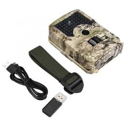 2019 câmera escondida ao ar livre Camuflagem de animais selvagens portátil ao ar livre à prova d 'água infravermelho 1080 P Trail Camera Camcorder de caça para acessório de caça