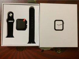 2019 crianças apple iwatch Série 44 milímetros relógio inteligente 4 Bluetooth Smartwatch Heart Rate Monitor Esporte iPhone Xiaomi 11 x xs caixa Goophone iWatch relógios para crianças apple iwatch barato