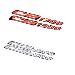 2019 emblèmes honda Autocollants universels d'emblème de la moto 3D pour HONDA CB1300 emblèmes honda pas cher