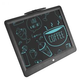 """2019 sottile compressa bianca 15 """"LCD Tablet Tablet portatile digitale disegno giocattoli Tablet grafia Pads Board elettronico ultra-sottile bordo penna regalo"""