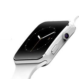 2019 наручные часы для телефона X6 Bluetooth Smart Watch Поддержка SIM-карты TF WhatsApp Facebook Часы с камерой SmartWatch Мужские наручные часы для телефона Android скидка наручные часы для телефона
