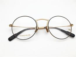 a5fb07b03f Brand desgin round shape vintage retro high high good quality Spectacle  frame Myopia Designer Glasses prescription clear lens eyeglass