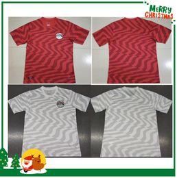 Мужские рубашки онлайн-На S-2XL с 2019 Египет футбольные майки Салах М. А. HEGAZI М. ELNENY KAHRABA Рамадан пользовательские дома 19 20 Футбол рубашка