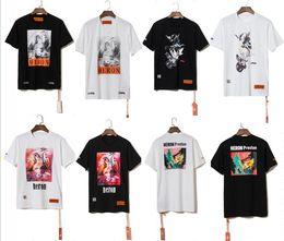 2019 stilvolle männer t-shirts 2019ss Sommer Stil Reiher Preston Tauben Gedruckt Frauen Männer T shirts T-shirts Hiphop Streetwear Männer Baumwolle Kurzarm T-shirt S-XL