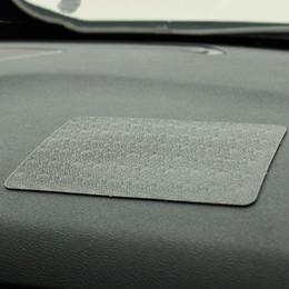 almohadilla de gel de teléfono celular Rebajas Tablero del coche Super Sticky Pad Antideslizante Estera Gel de sílice 18x13 CM Soporte antideslizante para alfombrillas para teléfonos celulares Llaves, etc.