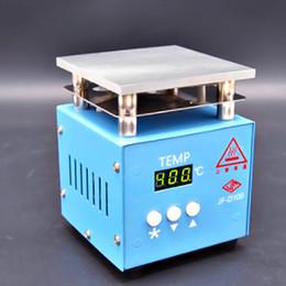 Mini Mesa de Aquecimento Termostato Temperatura Pré-Aquecimento Da Plataforma Desoldering Estação de Reparo Do Telefone Móvel LCD Screen 10X10 separador de Fornecedores de conector para acer