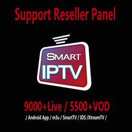 IPTV Abonnement 9000 + LIVE und 5000 + VOD Abonnement IPTV Französisch Portugal Italien Europa Arabisch USA 50+ Länder IPTV Für IOS TV BOX M3U von Fabrikanten