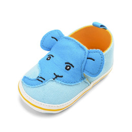 elephant shoes Coupons - Elephant Design Anti-Slip Shoes Casual Sneakers Toddler Soft Soled 0-18M