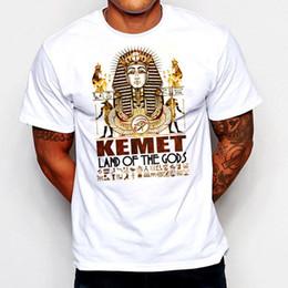 T-shirt égyptien Kemet Maat Roi Tut Néfertiti Hiéroglyphes Noir Histoire Tee Remise En Gros Croatie Tshirt En Cuir ? partir de fabricateur