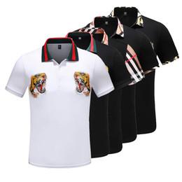 NUEVO 2019 Medusa poloshirt Italia polo luxe camisas de manga corta para hombre Moda Hombre Sudaderas Hombre camiseta casual desde fabricantes