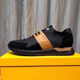 2019 Top Quality FD marchi di lusso FUN FUR scarpe da ginnastica di design in vera pelle regalo mens donna Racer vendita calda sport casual stivali New1803 da