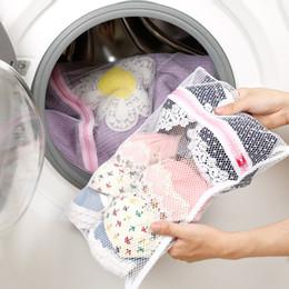 sacchetto di viaggio in maglia nylon Sconti Borse per bucato Lavatrice Specializzato Biancheria intima Bra Borsa da viaggio Viaggio Borse a rete Pouch Clothes Washing Bag GGA2109