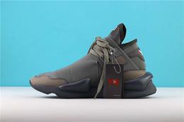 H sapatos on-line-H + 2019 Nova Versão Futurecraft Alphaedge 4D Asw Y-3 Kaiwa Runner Y3 sapatos de corrida Mens casual designer preto com Sapatos brancos size5-11