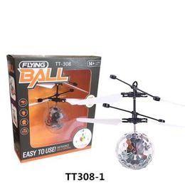 2019 летающая игрушка для слинга 10 моделей RC Drone Летающий вертолет Мяч Самолет Вертолет Светодиодная Мигающая Подсветка Игрушки Индукции Электрический датчик игрушки Дети Дети Рождество