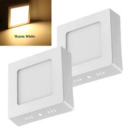 lampade da cucina Sconti Magazzino In US 6W LED Plafoniera a soffitto Illuminazione da soffitto Lampada da bagno per hotel per esposizioni e luoghi pubblici