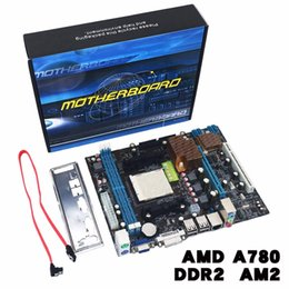 Motherboard speicher online-A780 Desktop-Computer Motherboard 780G Mainboard Unterstützung DDR3-Speicher Dual Channel AM3-Sockel