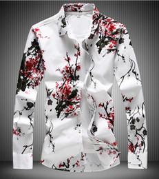 Mancuerna camisa delgada online-Camisa de hombre Gemelos franceses 2019 Camisa de hombre a estrenar Camisas de manga larga para hombre Camisas de vestir slim fit puños franceses para hombre