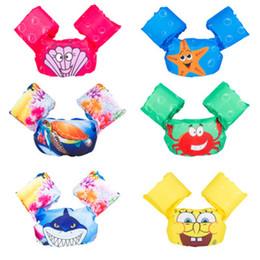 Chaqueta de traje de baño online-Niños salvavidas natación bebé brazo flotador natación entrenamiento niños chaleco salvavidas chaqueta traje de baño accesorios de piscina
