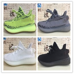 Deutschland Adidas Yeezy 350 True Form Kanye West 350 V2 Static Ton Zebra Creme Weiß Blau Farbton Beluga 2.0 Butter Sesam Laufschuhe Designer Sneakers 5-13 Versorgung