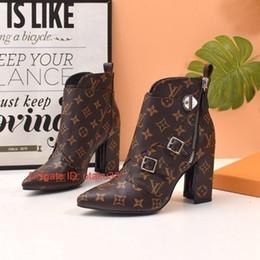 2020 корейский стиль женщин сапоги мода женские Сапоги зимние 2018 Новые моды высокие сапоги Женщины S поясная пряжка Bootss Knight Boots Для отправки обуви Box Размер корейском стиле дешево корейский стиль женщин сапоги