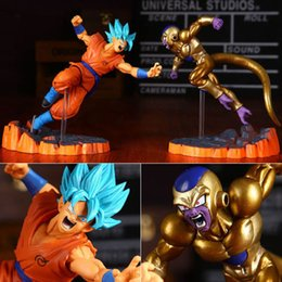 Anime DragonBall Figure Jouet Dragon Ball Z Goku Frieza Figurine Statues 2pcs 14cm ? partir de fabricateur