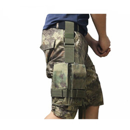 2019 revistas de pistola CQC M4 5.56mm Molle Mágico Tático Pistol Mag Bolsa Airsoft Paintball Drop Leg Panel Utilitário Holster Caça Mag Saco # 829290 desconto revistas de pistola