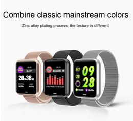 Argentina Inteligente Reloj Control de actividad podómetro presión arterial y el monitor de ritmo cardíaco impermeable contador de calorías SmartWatch Violeter H19 Suministro