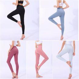 braceletes crossfit Desconto LU-ZA6 Mulheres Yoga Roupas das meninas calças compridas executando Leggings Ladies Casual Adulto Sportswear Exercício Fitness Wear