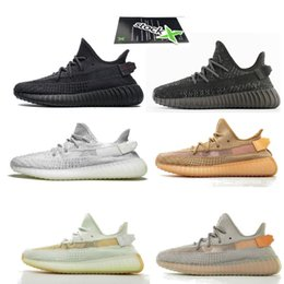 4f250f0593 2019 V2 Triple black FU9013 Stock x TAG NEW EG7492 ture form trfrm Running  Shoes big size sneakers 36-48 hyperspace v2 with box supra shoes deals