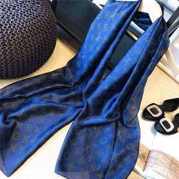lenço listrado branco azul Desconto Em 2019, novo cachecol feminino elegante impresso xale cachecol, xale de praia verão, atraente xale cachecol elegante