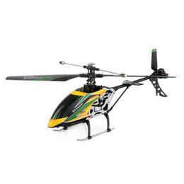 Helicóptero rc 4ch sin escobillas online-Wltoys V912 Brushless 2.4G 4CH Single Blade Motor RC de alta eficiencia Adecuado para vuelo tanto en interiores como en exteriores