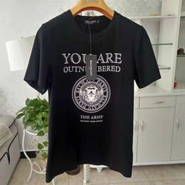 tops de polo de diseñador Rebajas Balmain Designer T Shirts Balmain Paris Negro Blanco para hombre T Shirts Diseñador de moda Camisetas Top de manga corta Polos Tamaño S-XXL