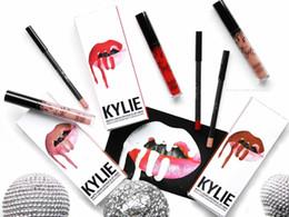 KY Lipgloss Lip Liner Set in matt mit flüssiger Lippenglasur und Champagnergold zum Geburtstag von Fabrikanten
