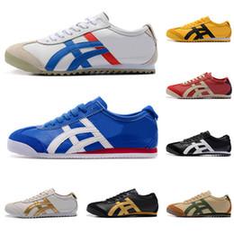 tigre chaussures de marque Promotion aiscs 2019 Gros Onitsuka Tiger Chaussures de sport Pour Hommes Femmes Athlétique Bottes Extérieure Marque Sports Hommes Baskets Baskets Designer Chaussure 36-44